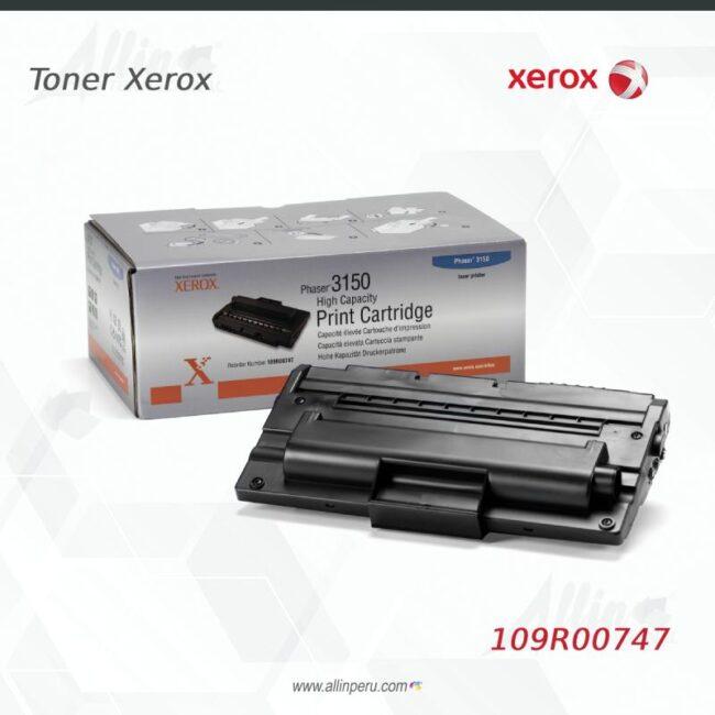 Toner Xerox 109R00747 Negro