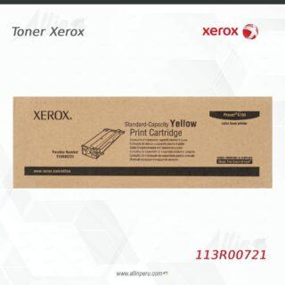 Toner Xerox 113R00721 Amarillo 2.000 páginas